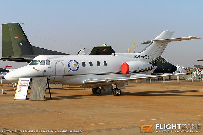 Hawker Siddeley HS-125 BAe ZS-PLC Waterkloof Air Force Base FAWK