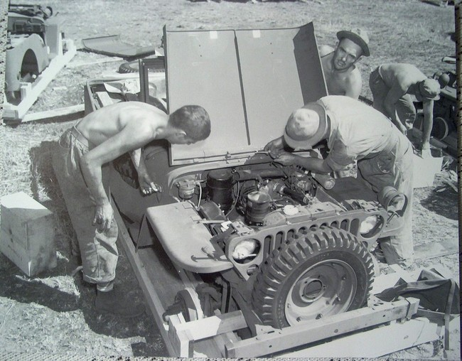 crate jeep assembly script GPW