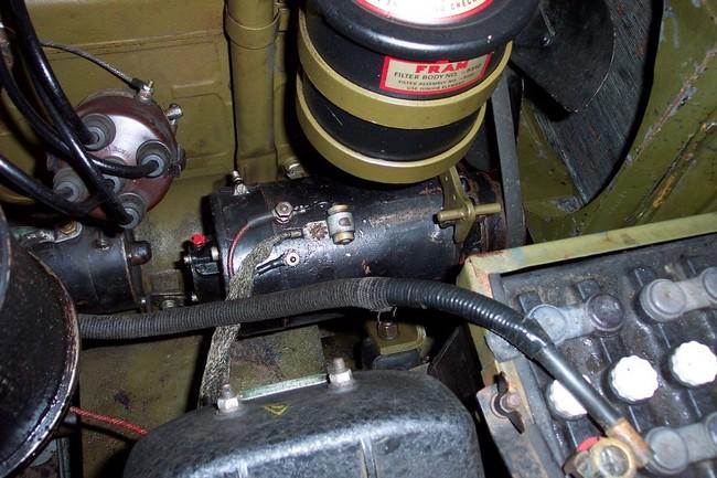 vw beetle alternator regulator wiring generator rewinding the 6v generator to 12v - g503 military vehicle ...
