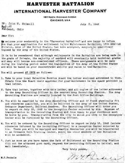 Hrvester Letter