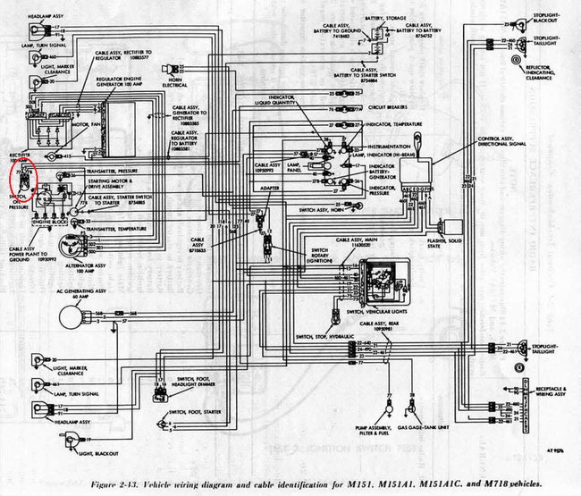 m151a1_schematic wiring or electrical problem g503 military vehicle message forums unimog 404 wiring diagram at eliteediting.co
