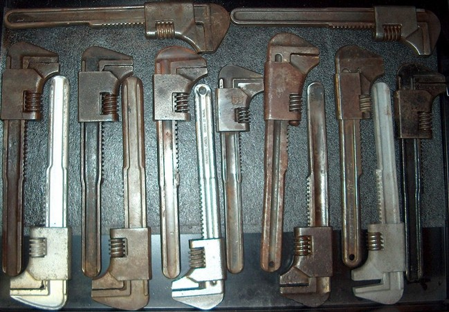 "11"" auto wrenches side 2"