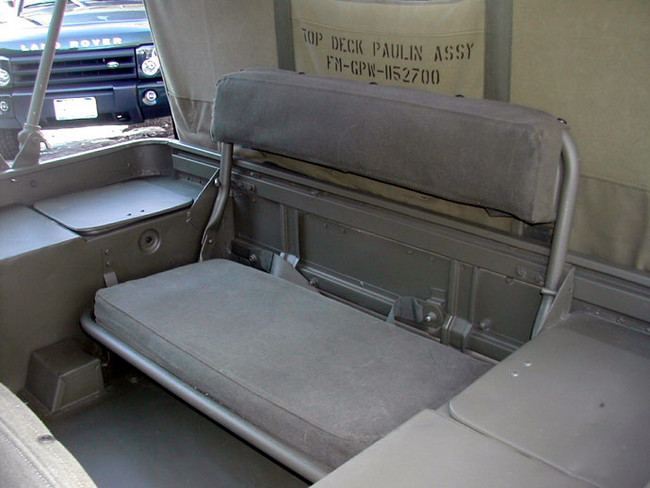 Rear seat mounting - G503 Military Vehicle Message Forums | Willys Jeep Rear Seat |  | G503 Military Vehicle Message Forums