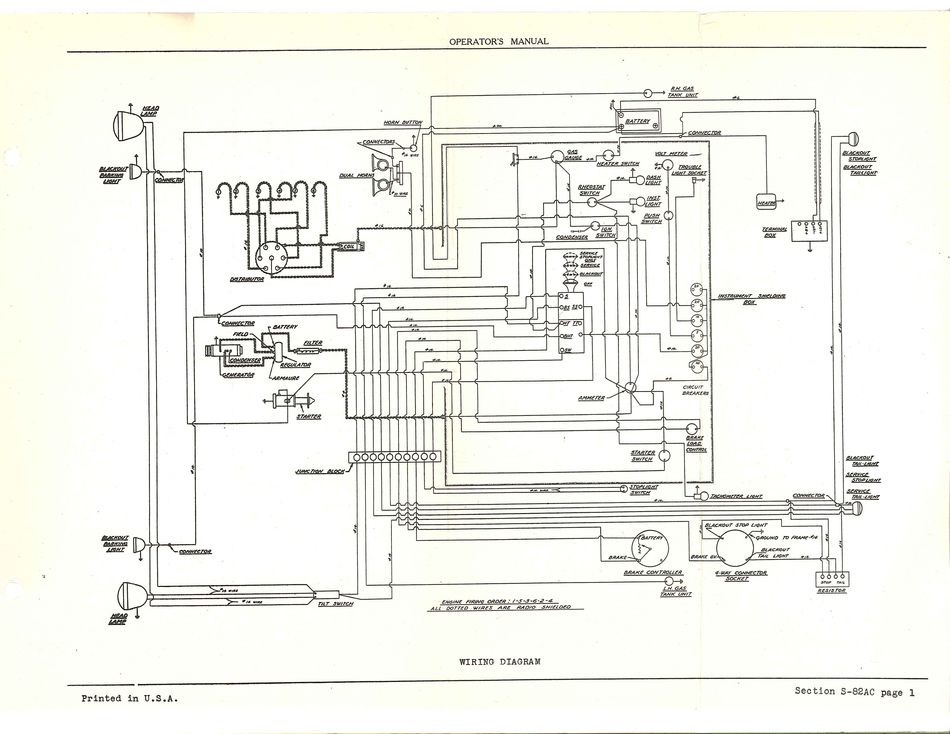 1963 cj5 wiring schematic 1979 cj5 wiring schematic #7