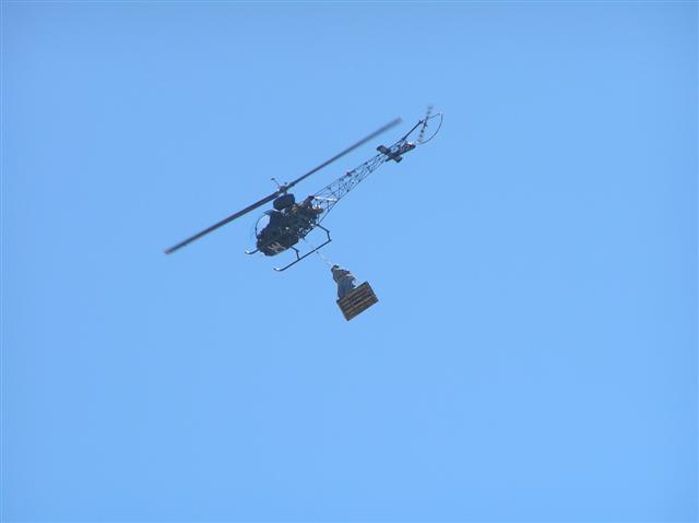 """Bell 47 ZS-HUL """"CIE"""" Cape Town Peroni Advert"""