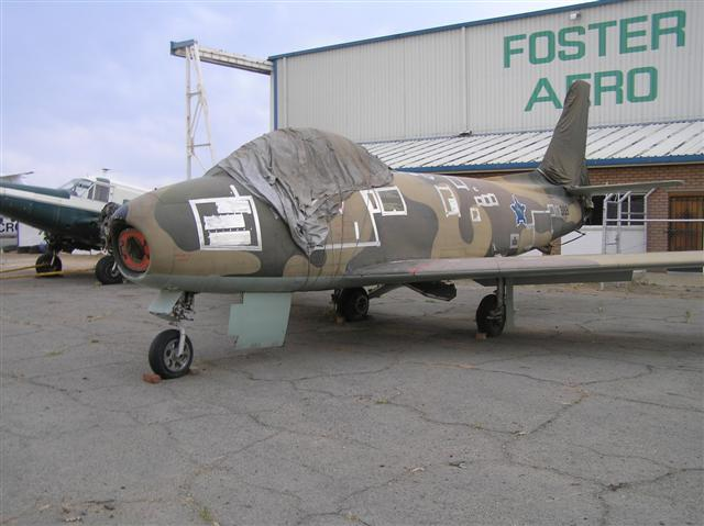 North American F-86F Canadair CL-6 Sabre SAAF