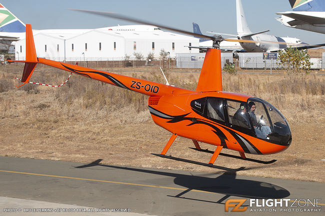 Robinson R44 ZS-OID Rand Airport FAGM