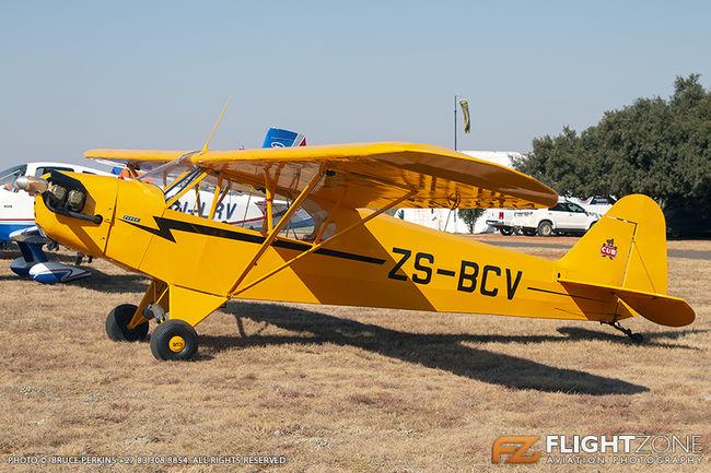 Piper J3C Cub ZS-BCV Krugersdorp Airfield FAKR