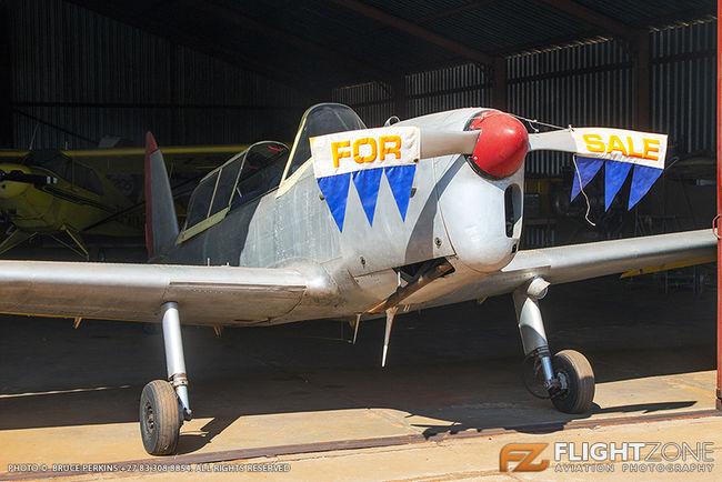 De Havilland DHC-1 Chipmunk ZS-OME Krugersdorp Airfield FAKR