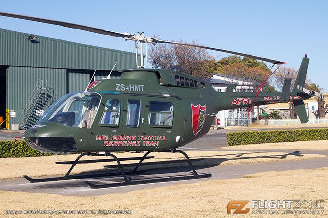 Bell 206L Long Ranger ZS-HMT Rand Airport FAGM