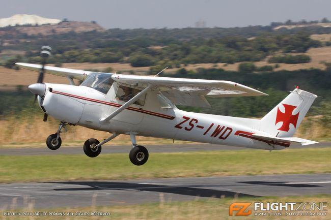 Cessna 150 ZS-IWD Krugersdorp Airfield FAKR