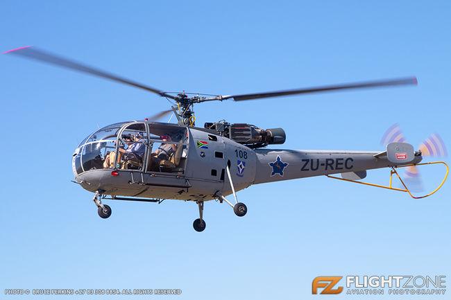 Aerospatiale Alouette III ZU-REC Rhino Park Airfield