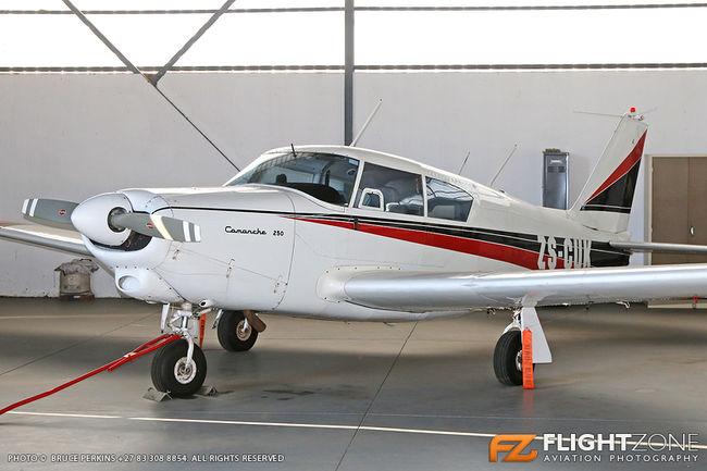 Piper PA-24 Comanche ZS-CUK Springs Airfield FASI