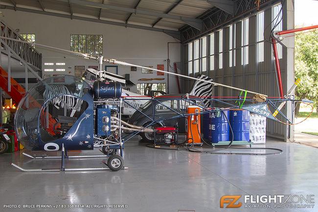 Canadian Home Rotors Safari ZU-CPO Petit Airfield FARA