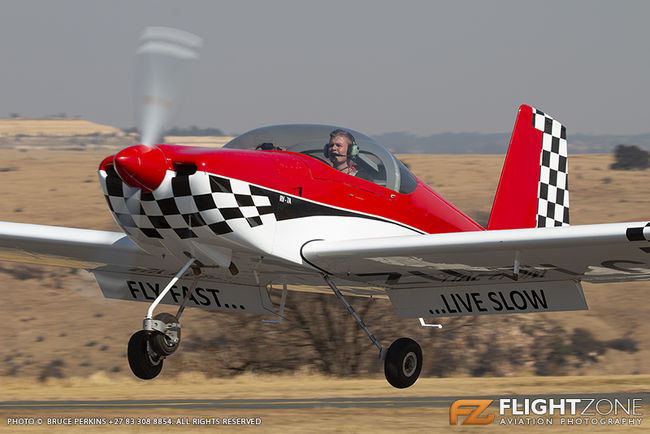 Vans RV-7A ZU-TLC Krugersdorp Airfield FAKR