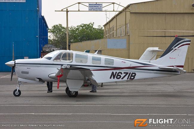 Beechcraft A36 Bonanza N671B Rand Airport FAGM