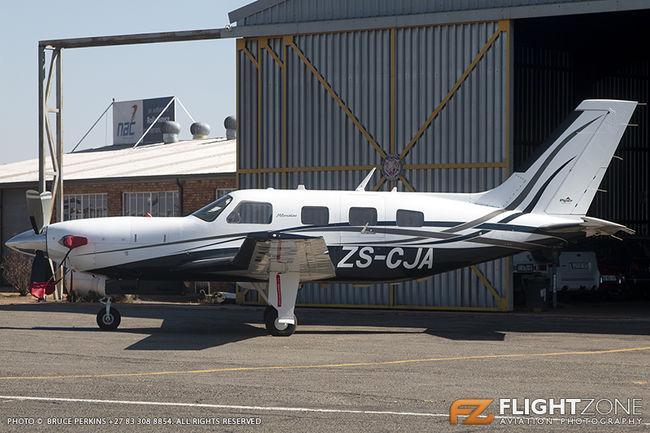 Piper PA-46-500TP Meridian ZS-CJA Rand Airport FAGM PA-46