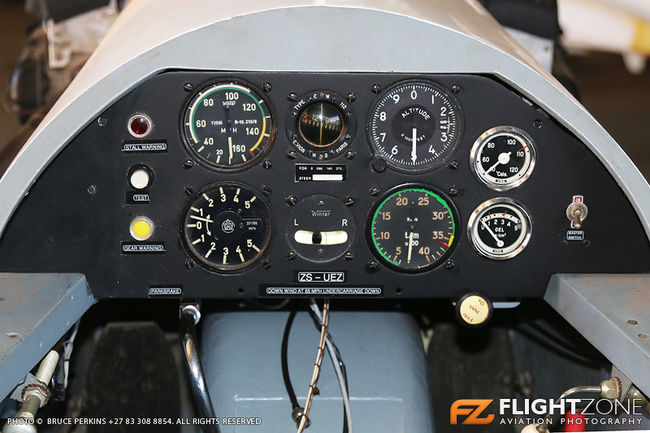 Fournier RF-4 ZS-UEZ Springs Airfield FASI Cockpit