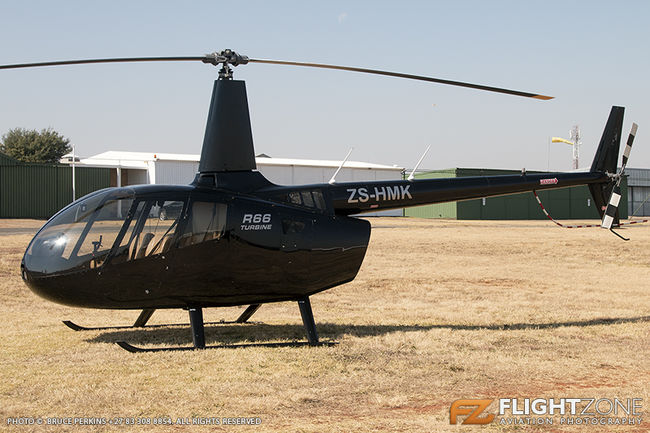 Robinson R66 ZS-HMK Krugersdorp Airfield FAKR