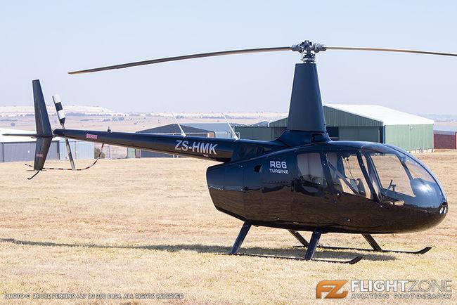 Robinson R66 ZS-HMK Krugersdorp Airfield FAKR