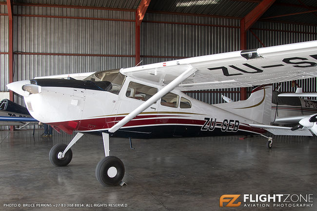 Cessna 185 Skywagon ZU-SEB ex SAAF 749 Rand Airport FAGM