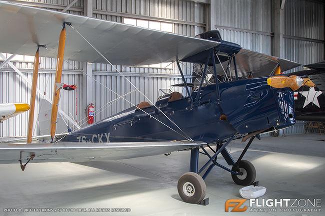 De Havilland DH-82A Tiger Moth ZS-CKX Rand Airport FAGM