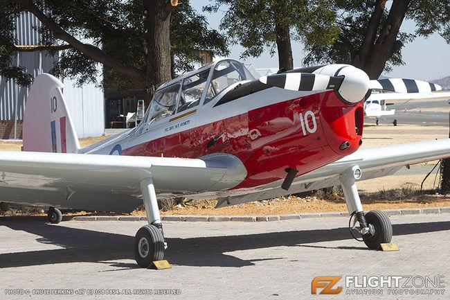 De Havilland DHC-1 Chipmunk ZS-OMA Rand Airport FAGM
