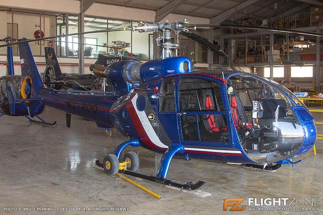 Aerospatiale SA-341G Gazelle ZU-ROO Rand Airport FAGM