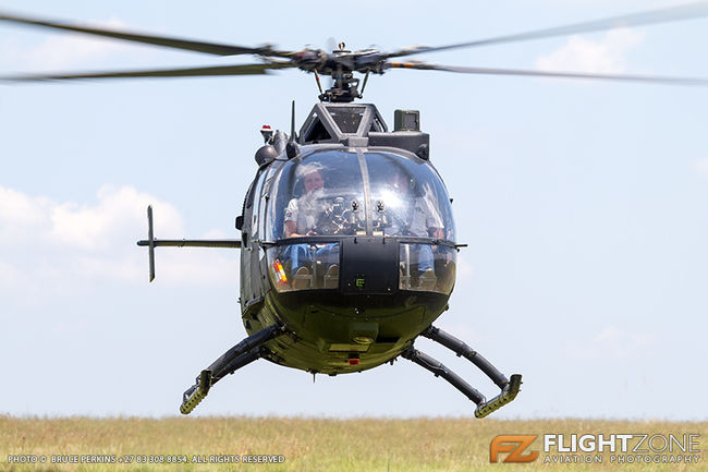 MBB BO-105 ZU-HBO Rand Airport FAGM