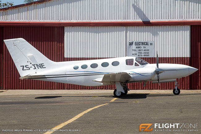 Cessna 421 Golden Eagle ZS-JNE Rand Airport FAGM 421C