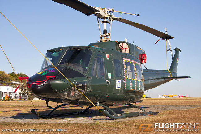 Bell 212 Huey ZS-HHS Rand Airport FAGM