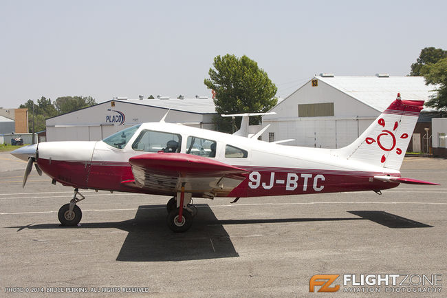 Piper PA-28 Cherokee 9J-BTC Rand Airport FAGM