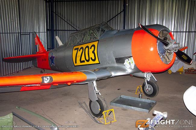 North American Harvard AT-6D ZU-CBD FAWB SAAF 7203