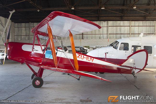 De Havilland DH-82A Tiger Moth ZU-IUV ex ZS-CDJ Rand Airport FAGM