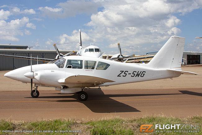 Piper PA-23 Aztec ZS-SWG Wonderboom Airport FAWB