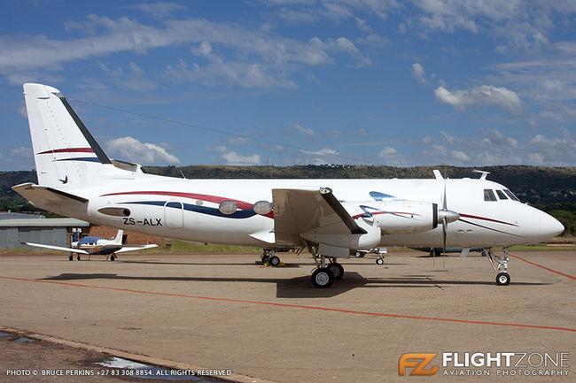 Grumman Gulfstream I G159 ZS-ALX Wonderboom Airport FAWB