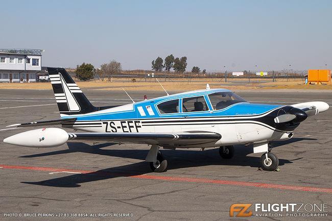 Piper PA-24 Comanche ZS-EFF Rand Airport FAGM
