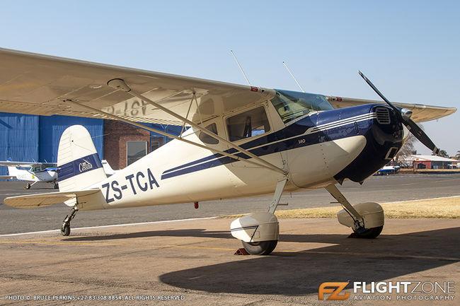 Cessna 140 ZS-TCA Rand Airport FAGM