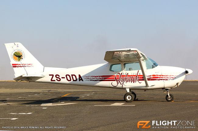 Cessna 172 Skyhawk ZS-ODA Rand Airport FAGM