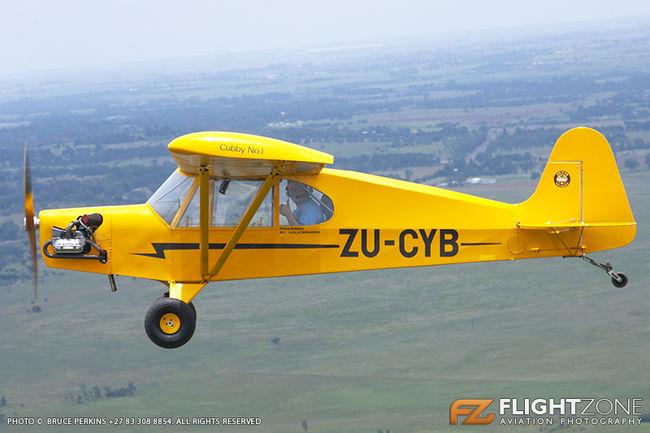 Cubby Piper J3 Replica ZU-CYB Tedderfield FATA