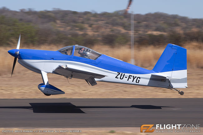 Vans RV-7 ZU-FYG Kittyhawk Airfield FAKT
