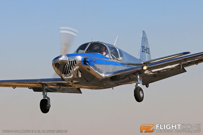 Globe GC-1B Swift ZS-BCE Krugersdorp Airfield FAKR - The