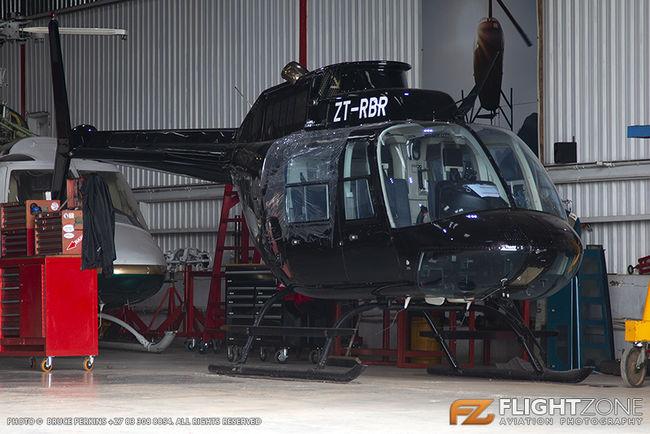 Bell 206B Jet Ranger ZT-RBR Rand Airport FAGM