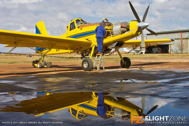 Air Tractor AT-602 ZS-NZW Parys Airfield FAPY