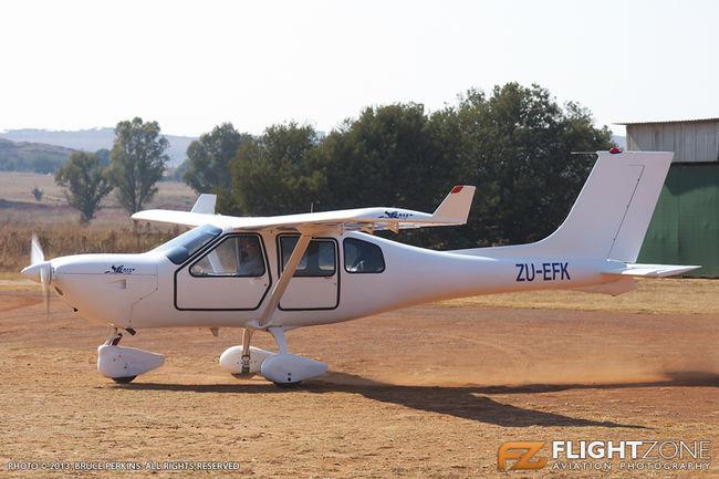 Jabiru ZU-EFK Rhino Park Airfield