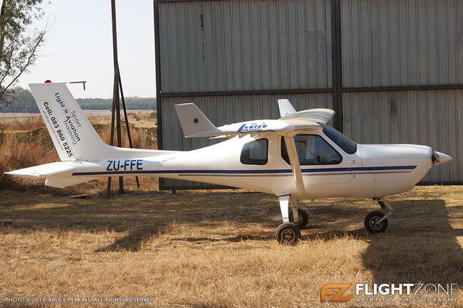 Jabiru ZU-FFE Rhino Park Airfield