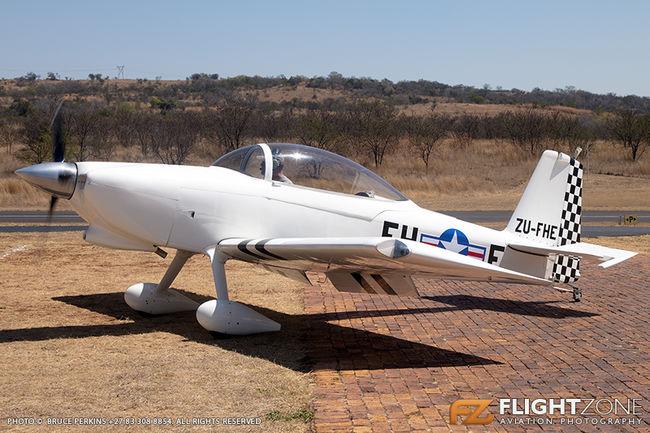 Vans RV-8 ZU-FHE Kittyhawk Airfield FAKT