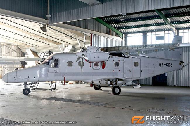 Dornier DO-228 5Y-CDS c/n 7028 Rand Airport FAGM
