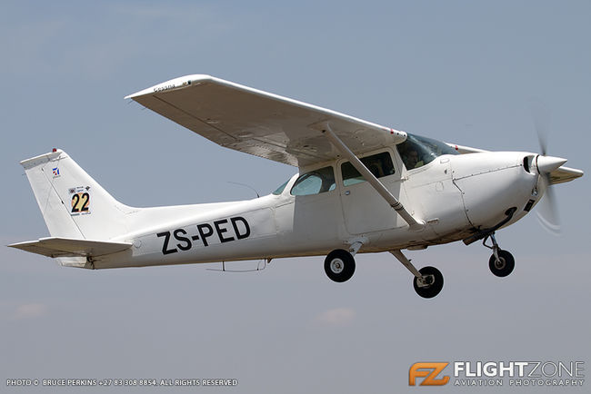 Cessna 172 Skyhawk ZS-PED Springs Airfield FASI
