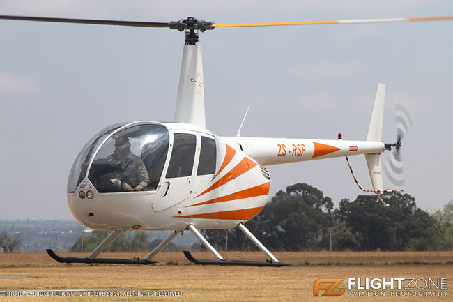 Robinson R44 ZS-RSP Rand Airport FAGM